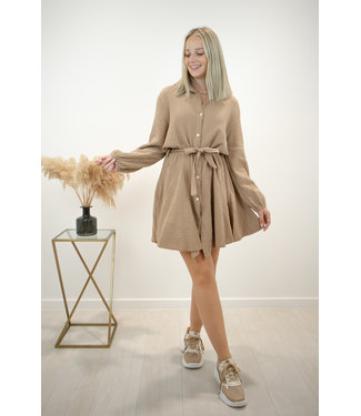 Dreamy tetra dress - camel
