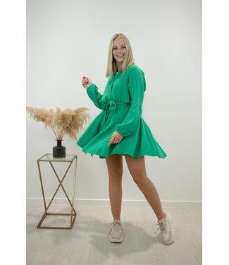 Dreamy tetra dress - emerald green