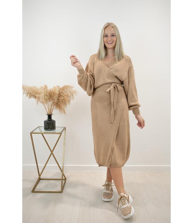 Lia dress - camel