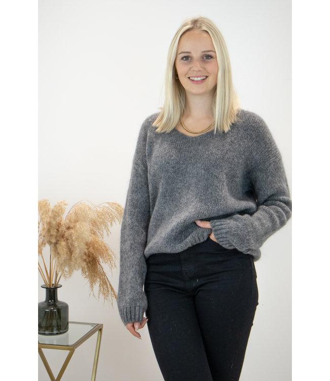 Belle sweater - grey