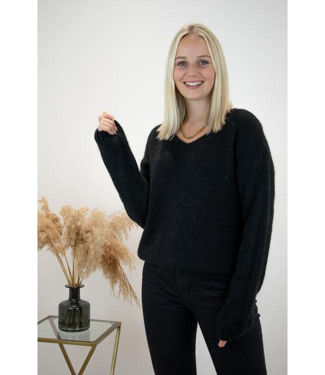 Belle sweater - black