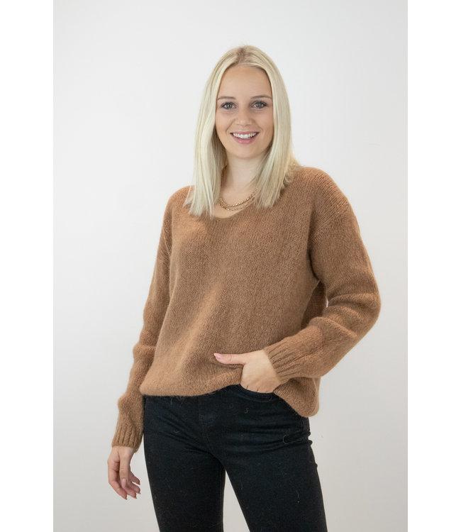 Belle sweater - camel