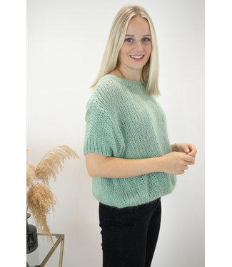 Felicia short sleeve - green