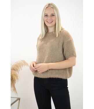 Felicia short sleeve - camel