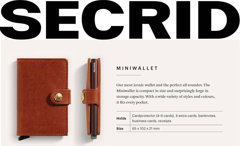 Secrid wallet, het ideale kado voor de feestmaand december
