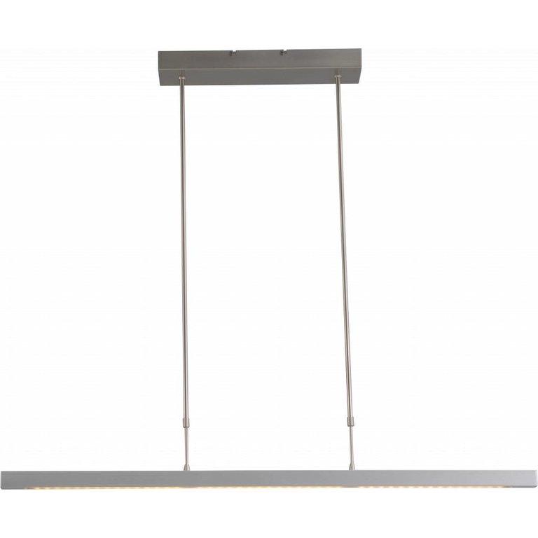 Masterlight Hanglamp Real 3 nikkel 100 cm