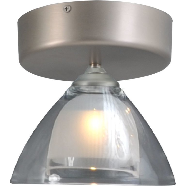 Masterlight Plafondlamp Caterina nikkel LED 1lichts