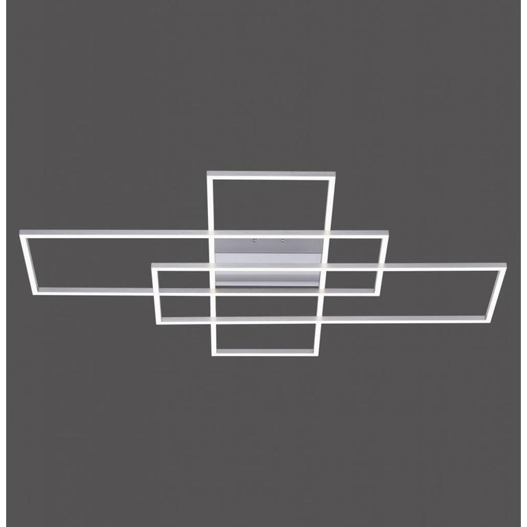 Paul Neuhaus Plafondlamp Q-Inigo 3 x rechthoek dimbaar en kleurinstelbaar