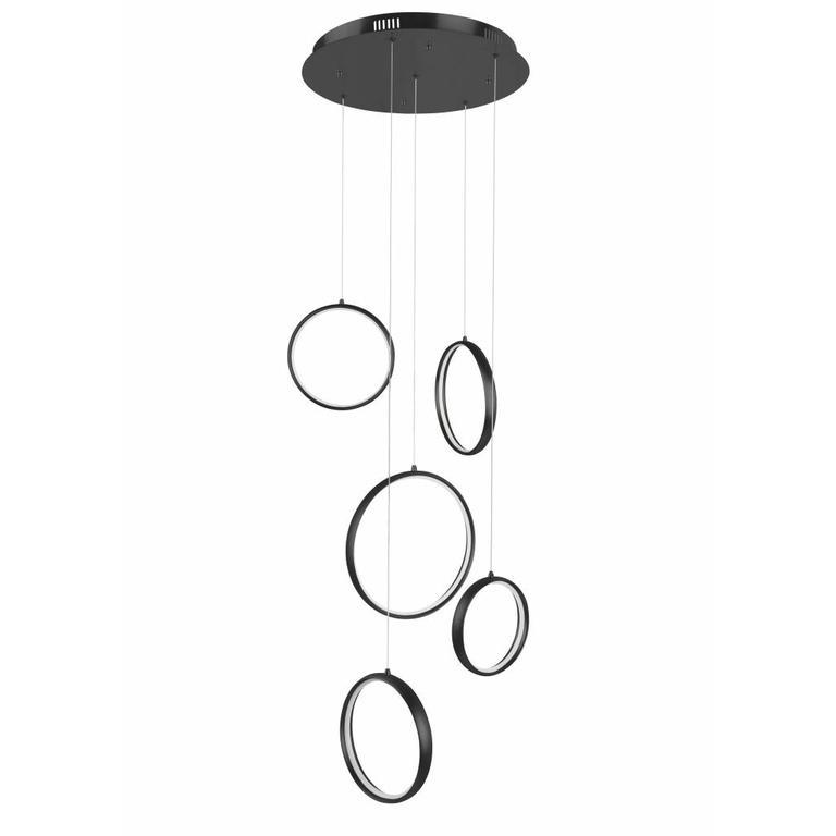 Highlight Hanglamp / Videlamp Olympia Zwart Klein