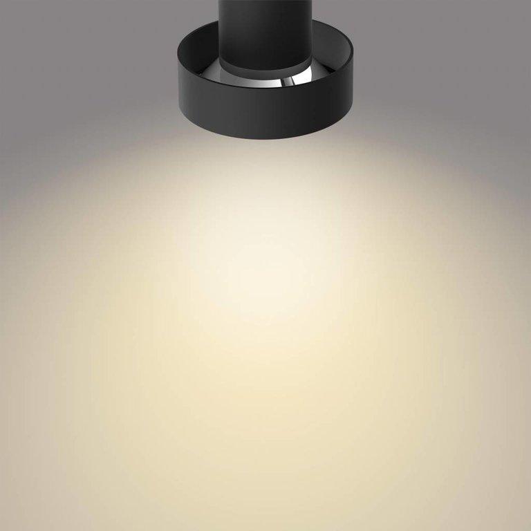 Philips Philips opbouwspot Bukko Zwart 2lichts LED (4,5W) met Sceneswitch