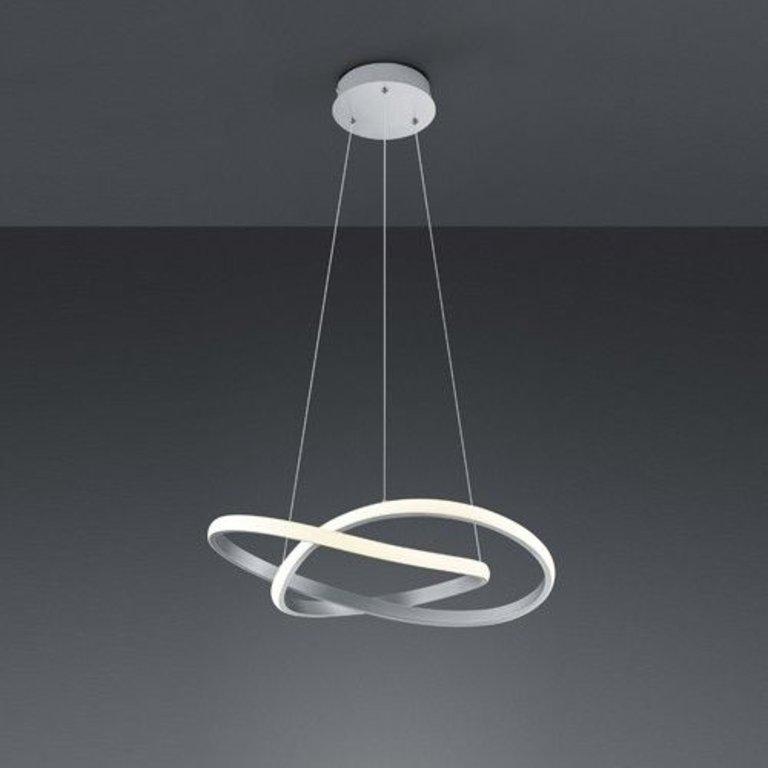 Trio Hanglamp Course Nikkel mat