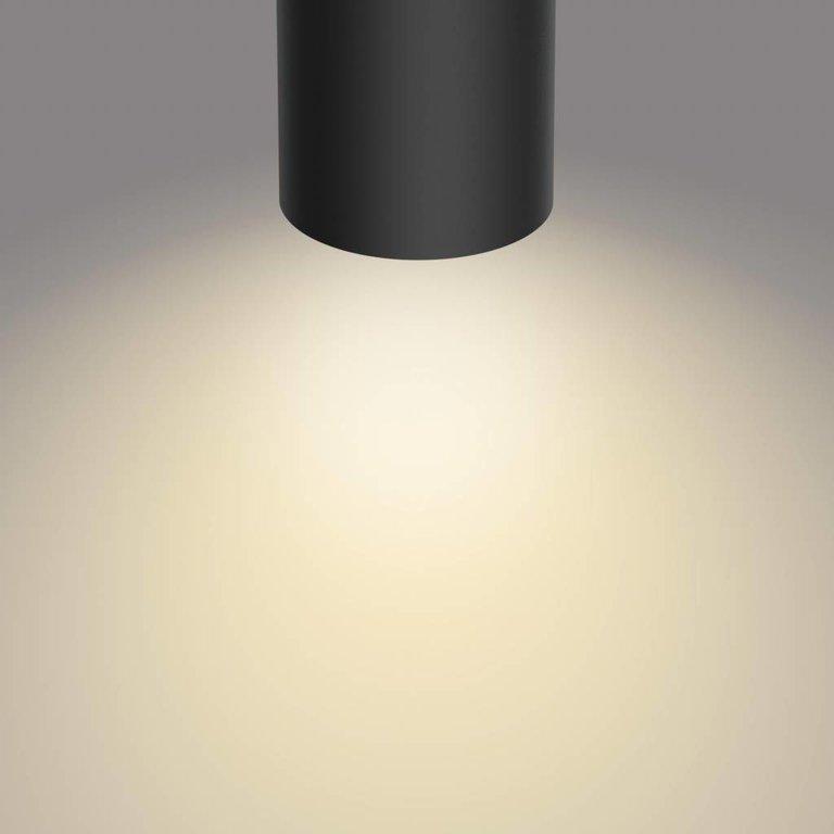 Philips Philips opbouwspot Byrl Zwart 1lichts LED (4,5W) met Sceneswitch