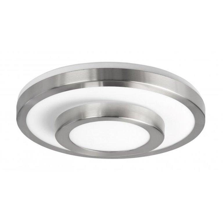 Highlight Plafondlamp Master Nikkel Mat Groot IP44