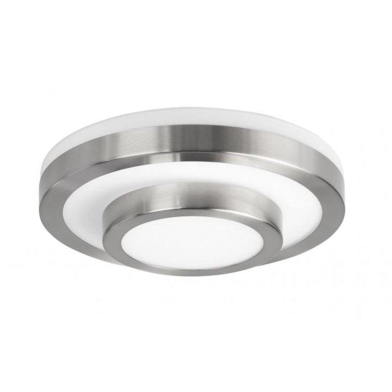 Highlight Plafondlamp Master Nikkel Mat Klein IP44