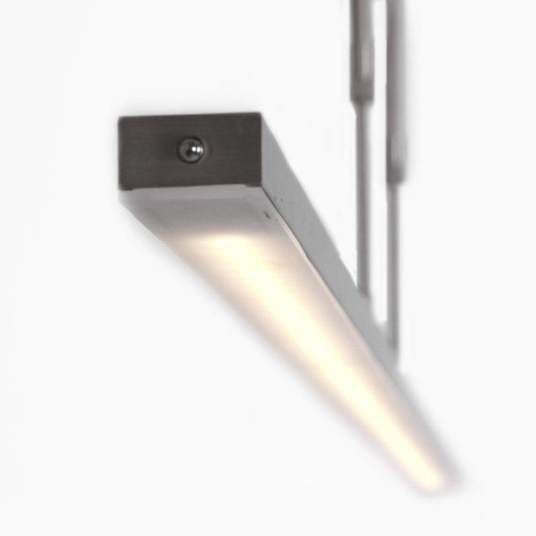 Steinhauer Hanglamp Zelena Staal Klein