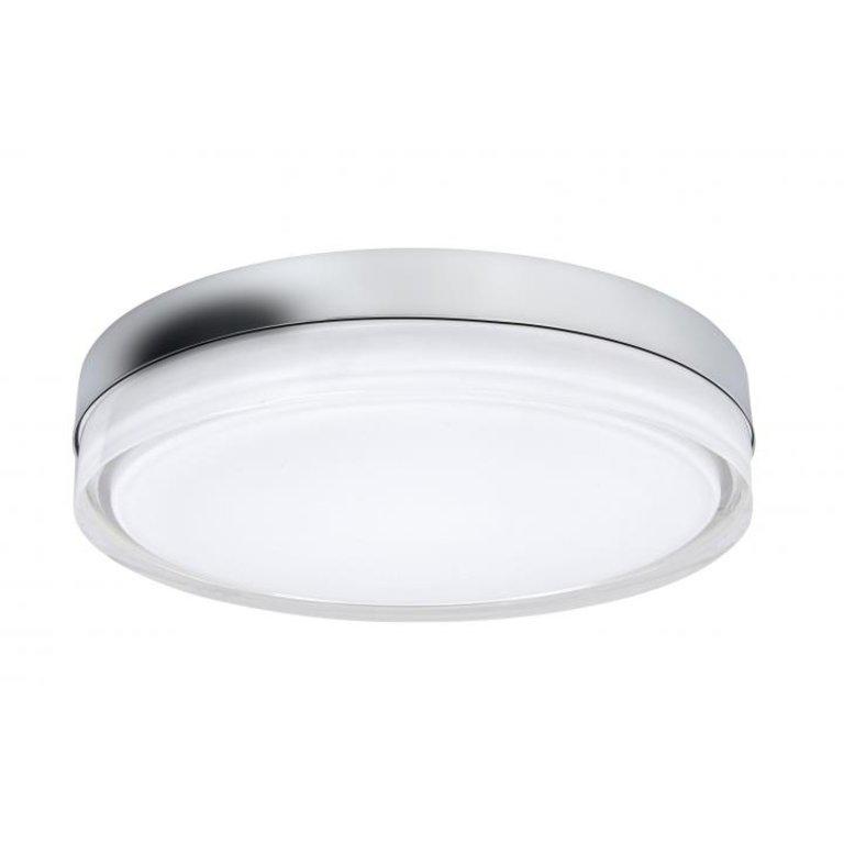 Highlight Plafondlamp Disc Nikkel Mat Groot IP44