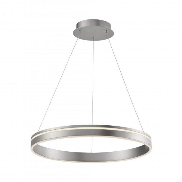 Paul Neuhaus Hanglamp Q-Vito staal 59cm dimbaar