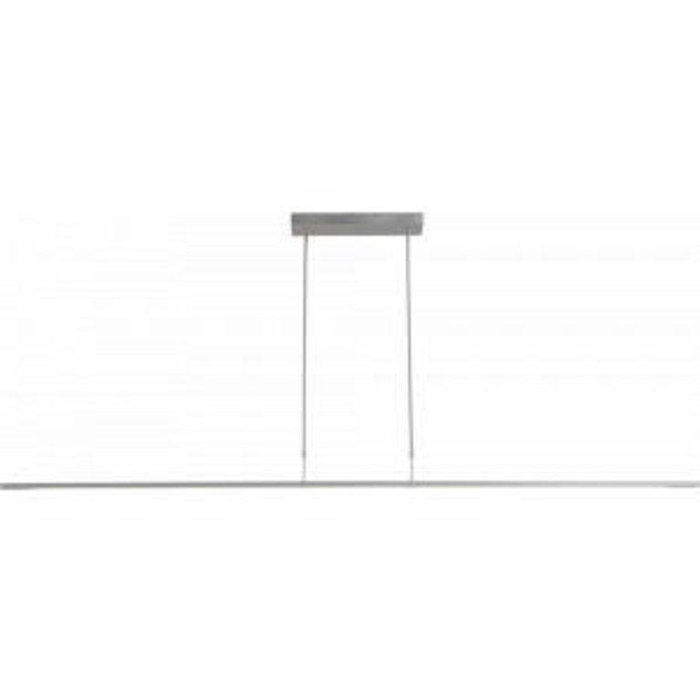 Masterlight Hanglamp Real 2 nikkel 200 cm