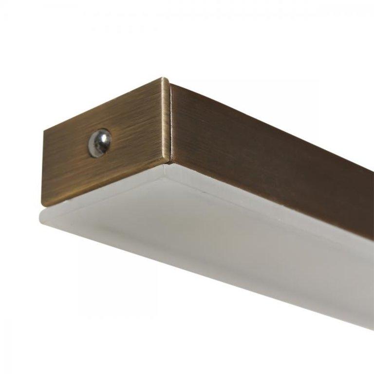 Steinhauer Hanglamp Zelena Brons Groot