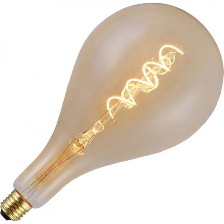 Masterlight XXL LED filament FLEX, E27, goud, dimbaar, 250 Lumen, 30 cm