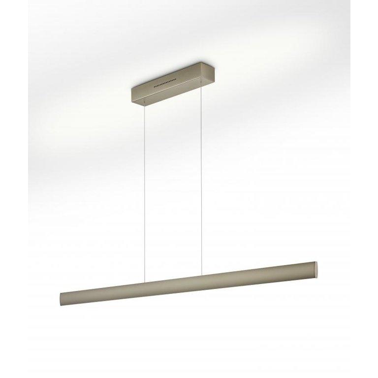 Knapstein Hanglamp Runa mat brons LED (72W) met sensordimmer