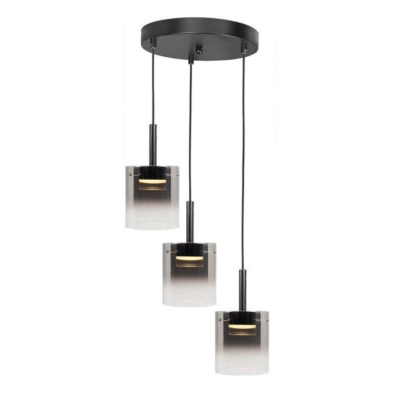 Highlight Hanglamp Salerno 3-lichts rond