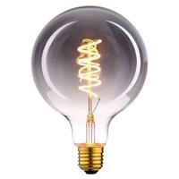 Highlight Hanglamp Fantasy Globe zwart glas 5-lichts