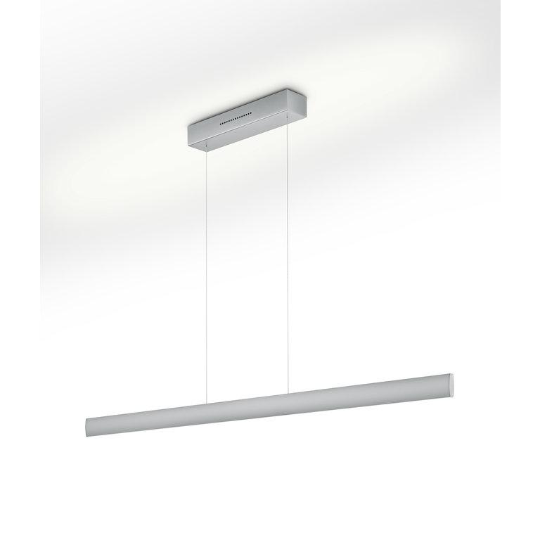 Knapstein Hanglamp Runa nikkel mat LED (62W) met sensordimmer
