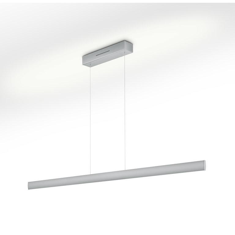 Knapstein Hanglamp Runa nikkel mat LED (72W) met sensordimmer