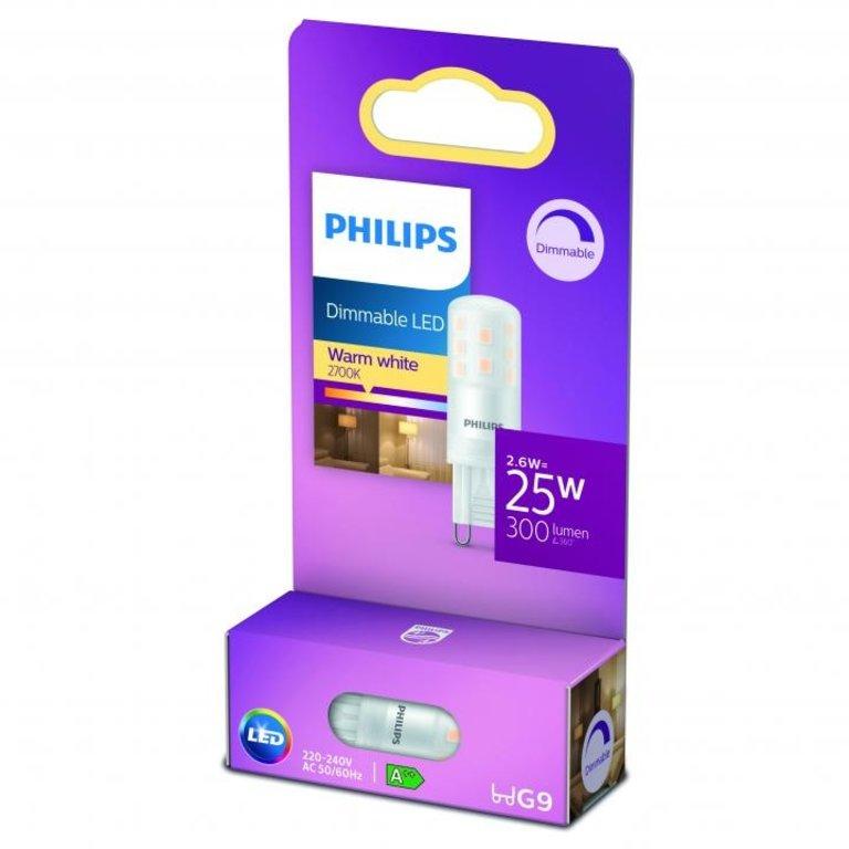 Philips LED Capsule G9 25W Dimbaar Warm Wit Licht