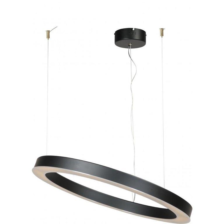 Masterlight Hanglamp Esmee mat zwart groot