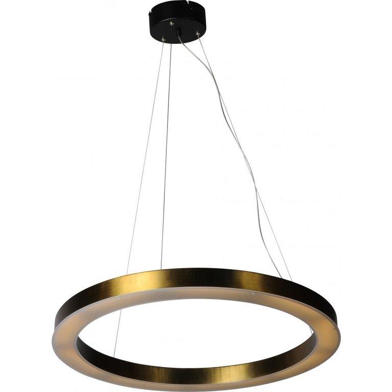 Masterlight Hanglamp Esmee antiek messing middel