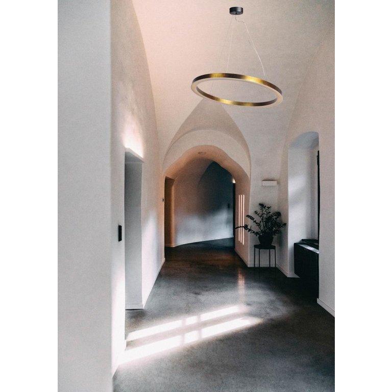 Masterlight Hanglamp Esmee antiek messing groot