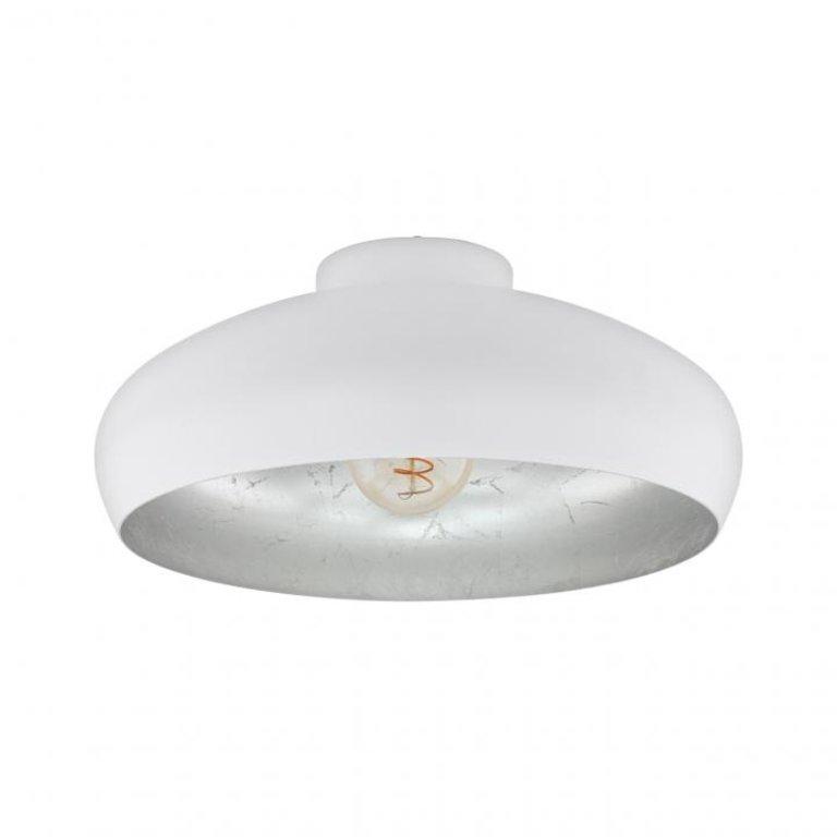 Eglo Plafondlamp Mogano Wit/Zilver