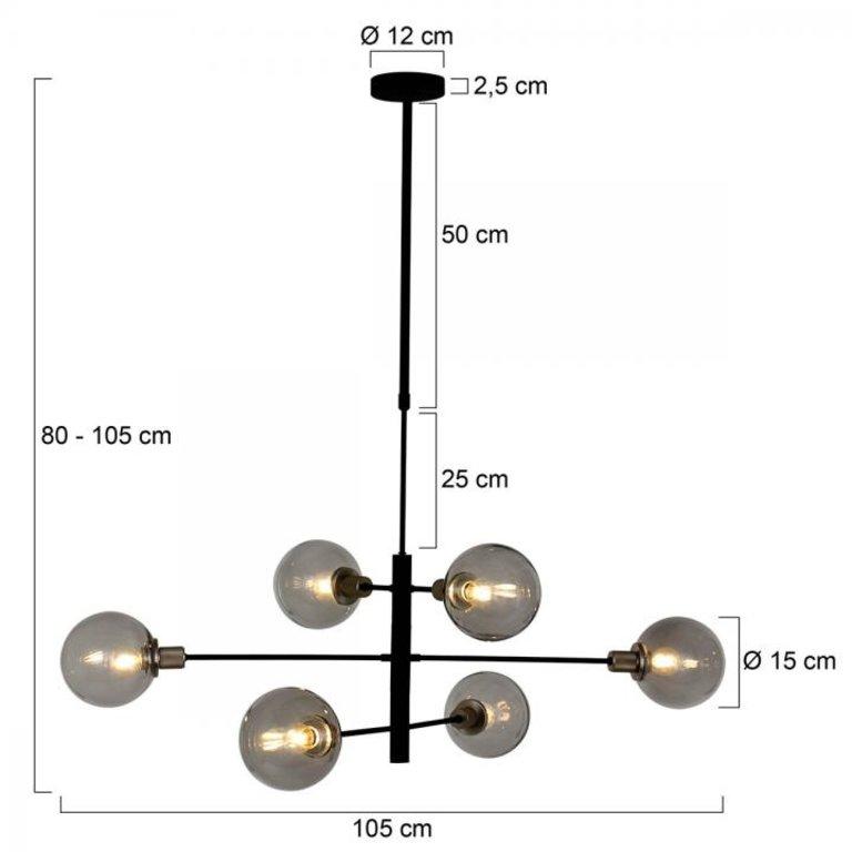 Steinhauer Hanglamp Constellation