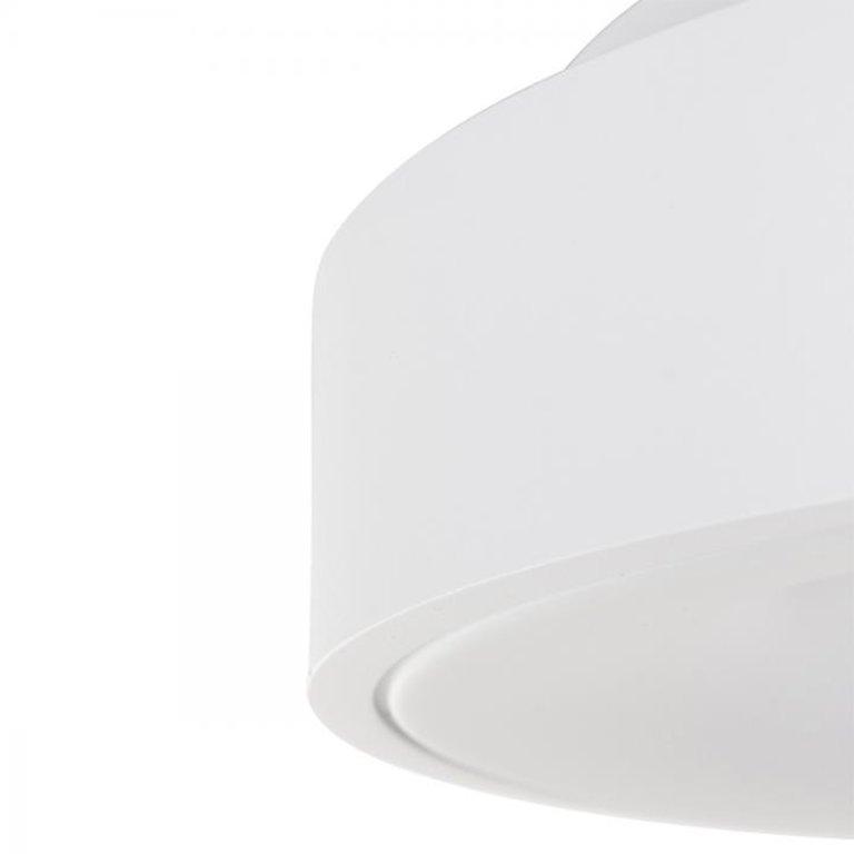 Steinhauer Plafondlamp Ringlede 38cm wit