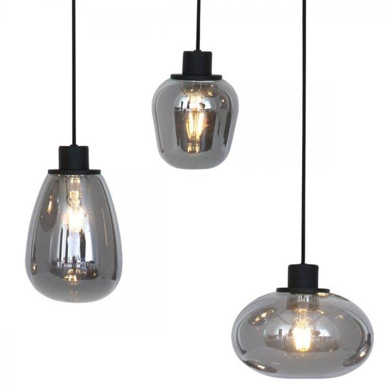 Steinhauer Hanglamp Reflexion rond 7lichts
