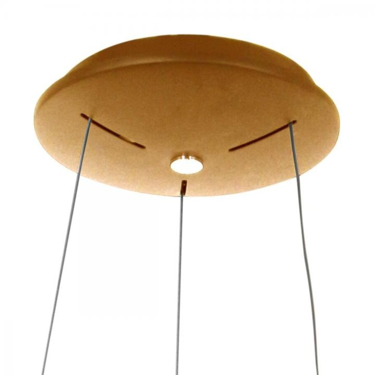 Steinhauer Hanglamp Ringlede goud 48cm
