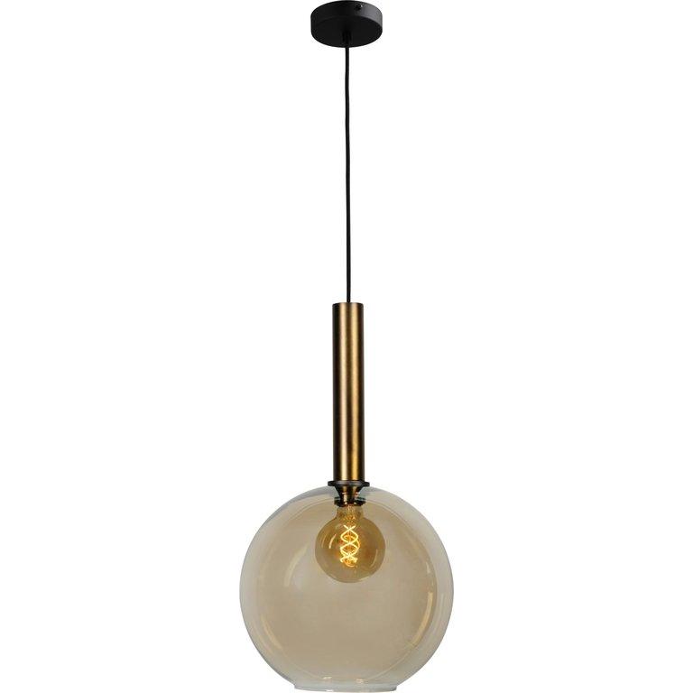 Masterlight Hanglamp Bella 1lichts antiek messing groot