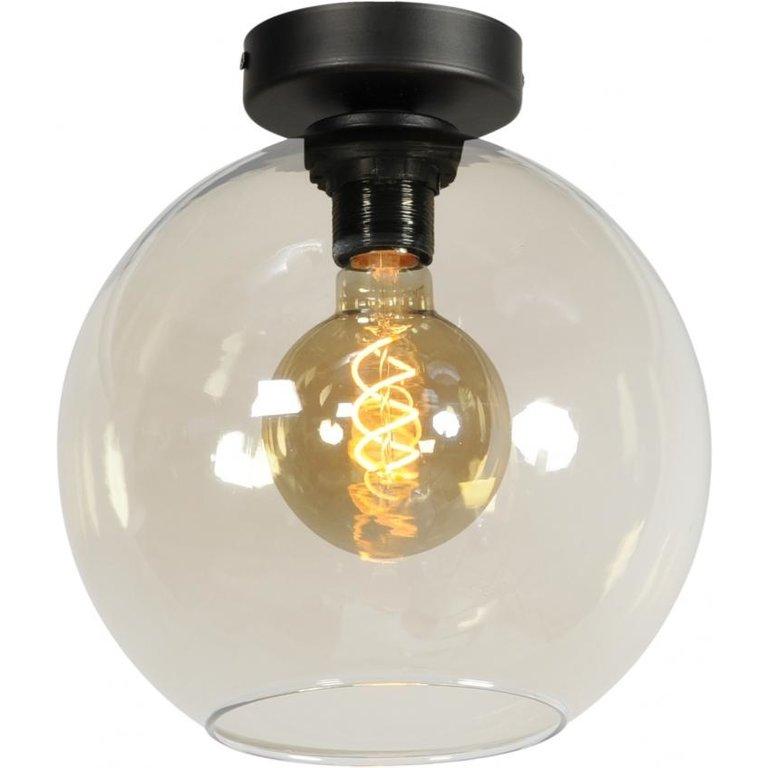 Masterlight Plafondlamp Bella zwart klein