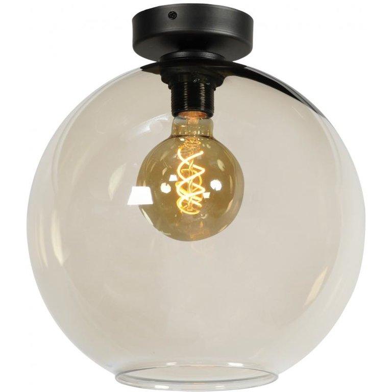 Masterlight Plafondlamp Bella zwart groot