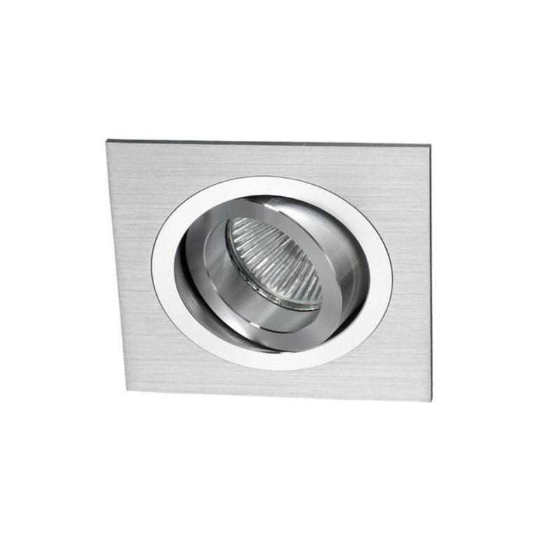 Masterlight Inbouwspot Di Moda aluminium, GU10, vierkant