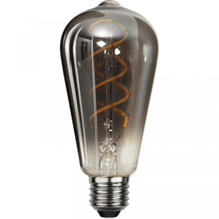Highlight E27 LED Edisonlamp - 9W dimbaar - smoke