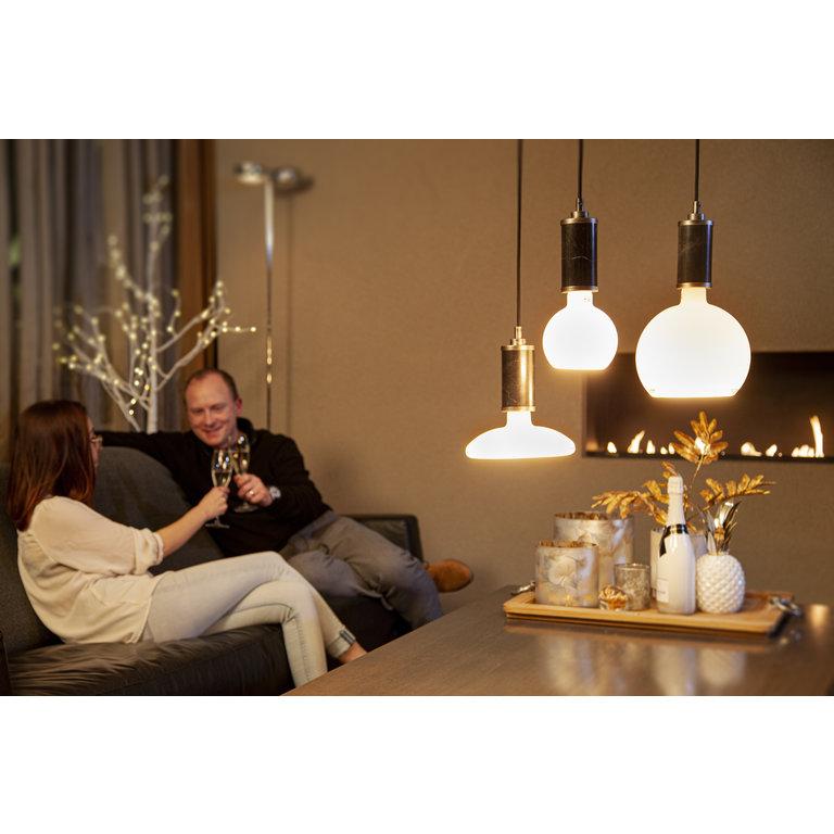 Segula Segula LED lamp E27 | Floating Globe 125 mm | Wit Glas