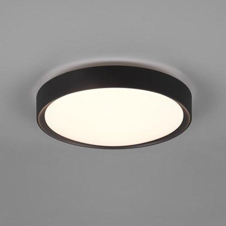 Trio Plafondlamp Clarimo Zwart 22 cm
