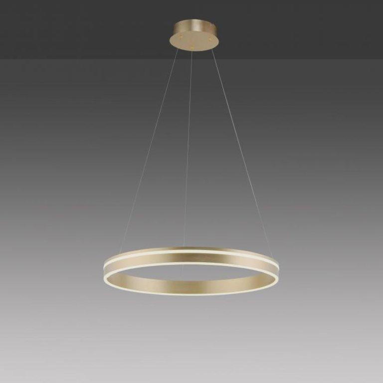 Paul Neuhaus Hanglamp Q-Vito Mat Messing 59cm dimbaar