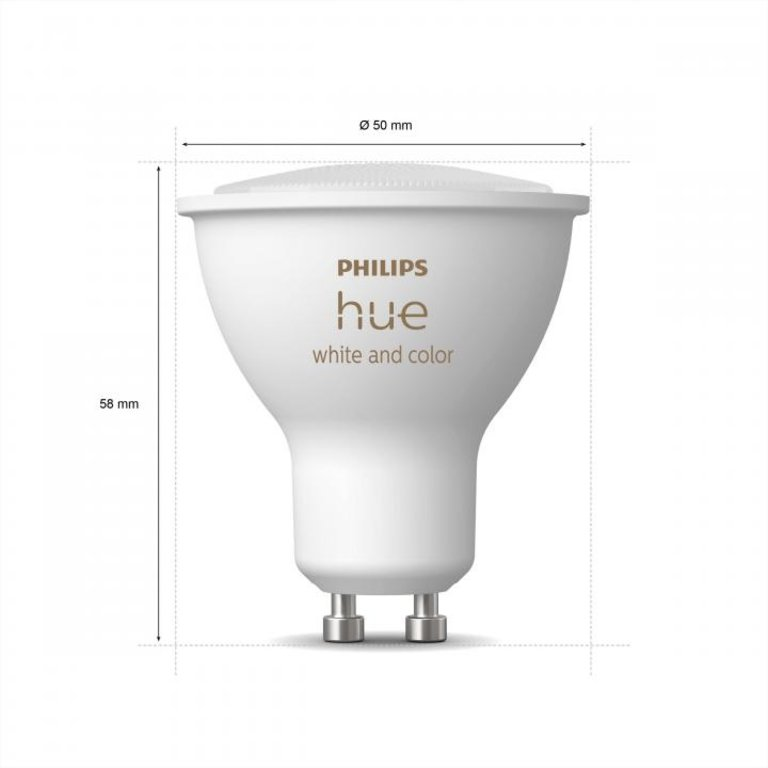 Philips Philips Hue White and Color GU10 3-pack
