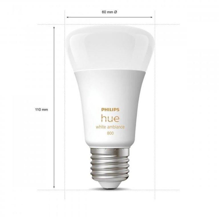 Philips Philips Hue White Ambiance E27 3-pack