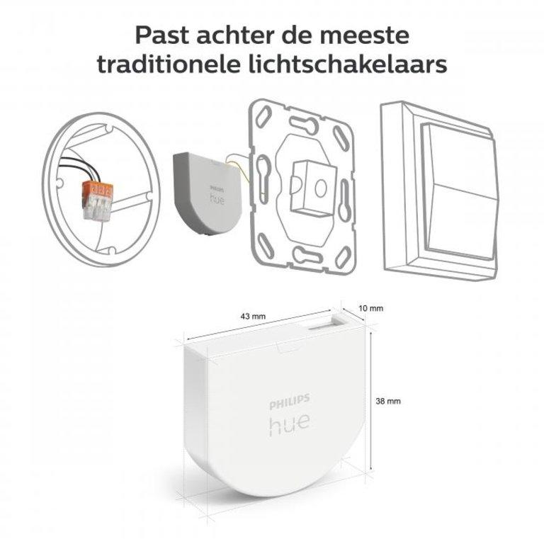 Philips Philips Hue Wandschakelaarmodule 2-pack