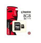 KINGSTON KINGSTON® microSD kaart met adapter (klasse 10)